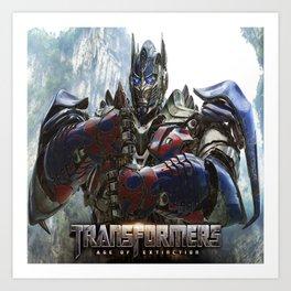 Budget Gift Transformers 4 Art Print