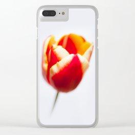 A Tulip Clear iPhone Case
