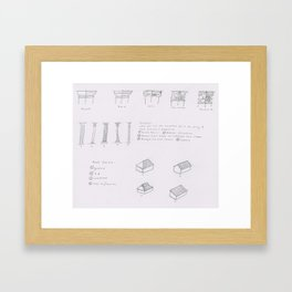 Architectural Elements page 3 Framed Art Print