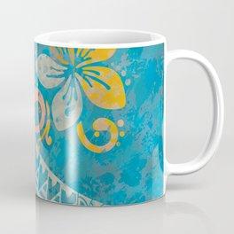 Ocean Splash Tribal Threads Coffee Mug
