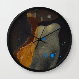 joelarmstrong_rust&gold_046 Wall Clock