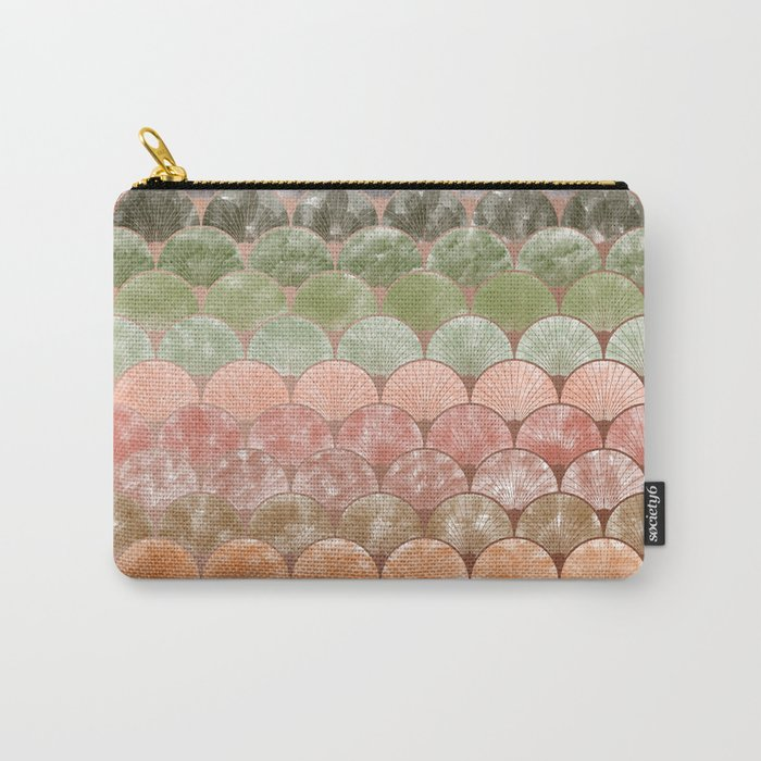 Watercolor art decó pattern Carry-All Pouch