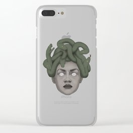 Medusa Clear iPhone Case