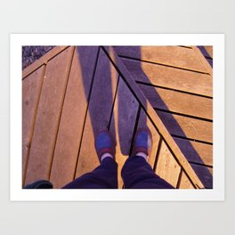 Deck Dreams Art Print