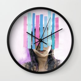 Trapped In My Thoughts Wall Clock