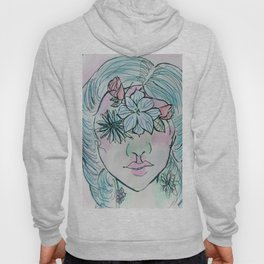Flowered Hoody