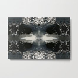 And The Dimensional Barriers Came Crashing Down Metal Print