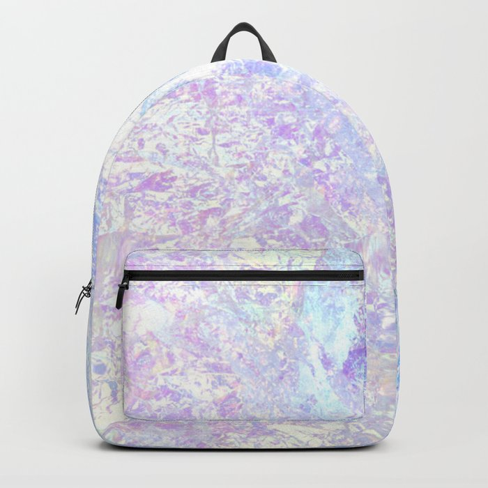 Iridescent Crystal Backpack