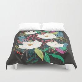 The Garden of Alice, flower, floral, blossom art print Duvet Cover