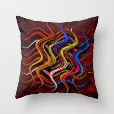 Abstraktus 24  Throw Pillow