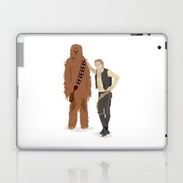Han Solo and Chewbacca Laptop & iPad Skin