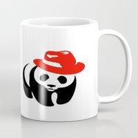 panda Mugs featuring Panda by ArtSchool