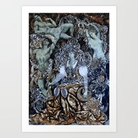 baroque Art Prints featuring Baroque by Кaterina Кalinich