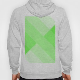 green and white gradient 3 Hoody