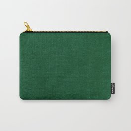 Dark green velvet texture  Carry-All Pouch