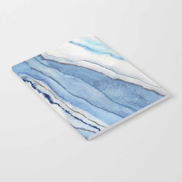 AGATE Inspired Watercolor Abstract 02 Notebook