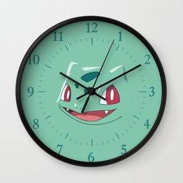 Bulbasur Wall Clock