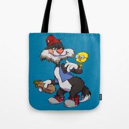 Sylvester & Tweety Bird Tote Bag