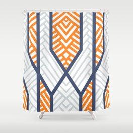 Chevronic Shower Curtain