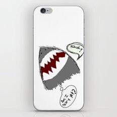 am i scary yet? iPhone & iPod Skin