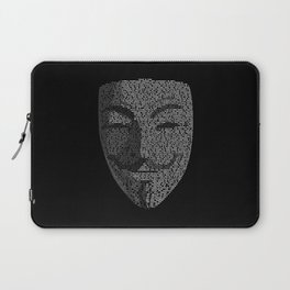 ...You May Call Me 'V' – So who's Anonymous? Laptop Sleeve