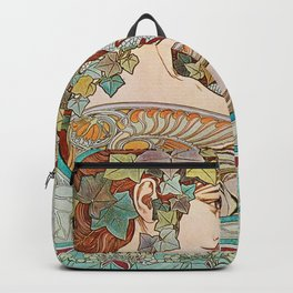 Alphonse Mucha  -  Ivy Backpack