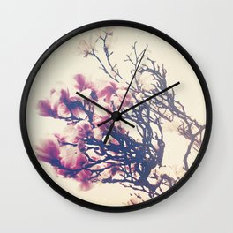 The Crowing Glory of Spring Wall Clock