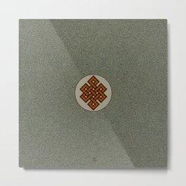 The Endless Knot II Metal Print