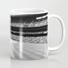Safeco Field in Seattle Washington - Mariners baseball stadium in black and white Coffee Mug