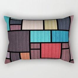 Mondrian Bauhaus Pattern #02 Rectangular Pillow