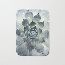 Botanical Print, Agave, Cactus Print, Succulent Art Bath Mat