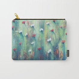 Dancing Field of Flowers Carry-All Pouch