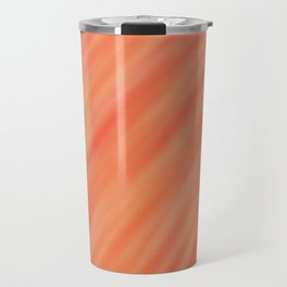 Peach Gradient Travel Mug