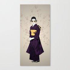 Geisha B Canvas Print