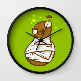 Looney Legumey Wall Clock