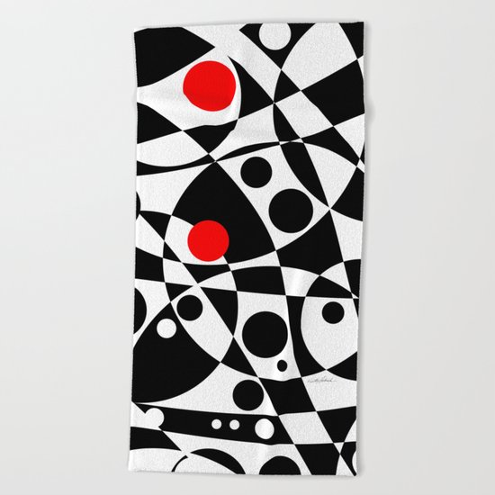 Its Not Just Black or White Beach Towel