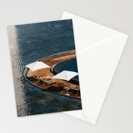 Embraced by the Blue Sea - Mexico Wanderlust  Stationery Cards