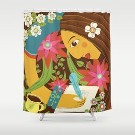 Sweet hours Shower Curtain