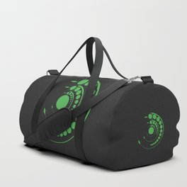 alien crop formation, sacred geometry Duffle Bag