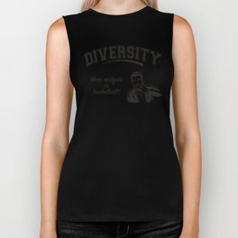 Diversity - Midgets in Basketball Biker Tank