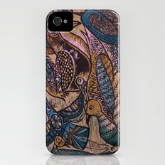 Birds (2) Slim Case iPhone (4, 4s)