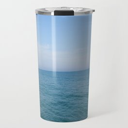 Floating to Blue Travel Mug