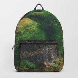 The green paradise lake Backpack