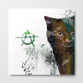 Cat №1 Metal Print