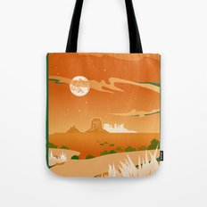 Monument Moon Tote Bag