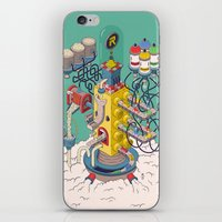 argentina iPhone & iPod Skins featuring Rasti / Industria Argentina by Martin Orza