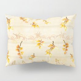 Autumn Leaves in Watercolor Pillow Sham