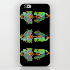 DOUBLE MIRROR FROGGINESS iPhone & iPod Skin
