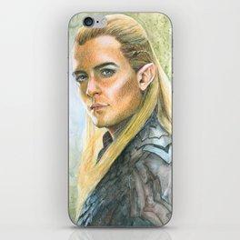 Pointy-eared elvish princeling iPhone Skin