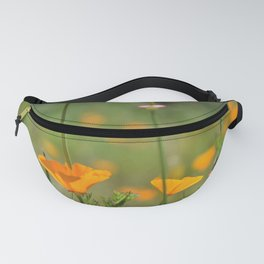 California Poppy Field Fanny Pack